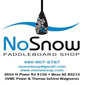 NoSnow Stand Up Paddleboard Shop