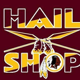 Redskins Hail Shop