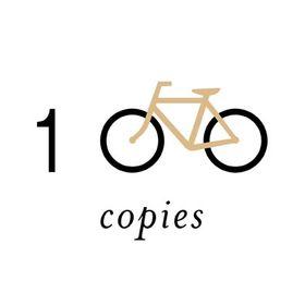100copies Bicycle Art