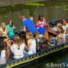 Boot Varen Den Haag - Rondvaart / Boat rental The Hague