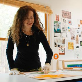 Artist. Sherri Silverman Studio & Transcendence Design