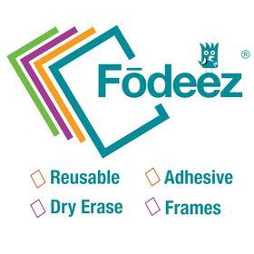 Fodeez® Adhesive Frames / Dry Erase Boards