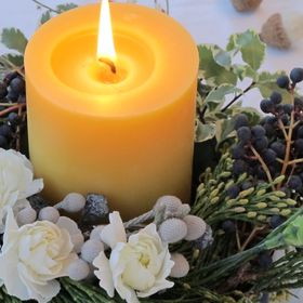 Scent from Nature; 100% Pure Beeswax Candles