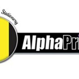 Alpha Print Stationery