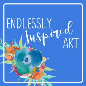 Endlessly Inspired Art | Colorful Instant Download Printable Art