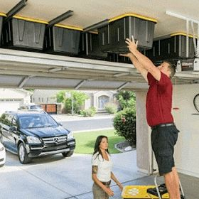 Keep Space Overhead Storage