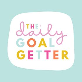 The Daily Goalgetter | Positive Affirmations for Vision Boards
