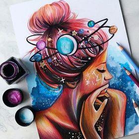 shining star draws (astchiek) op Pinterest