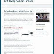 Best Rowing Machines For Home