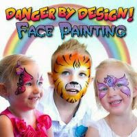 Danger by Design Face Painting