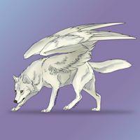 Wolfie Winged