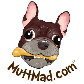 Mutt Mad Dog Face Decals