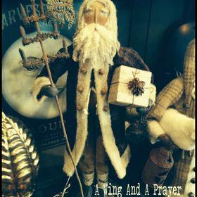 Becky Carney ~ A Wing and a Prayer~ Folk Artist