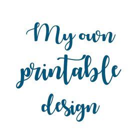 My own printable design