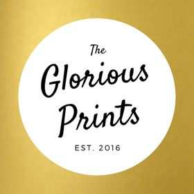 GloriousPrints Elegant Wedding Signs