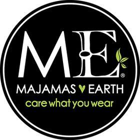 MAJAMAS® EARTH // eco friendly ethical USA MADE clothing