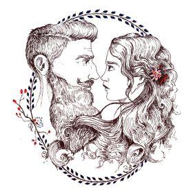 Beard and Lady