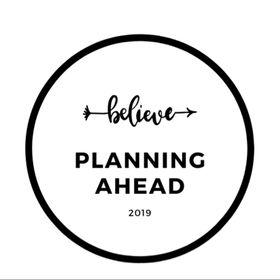Planning Ahead 🥂
