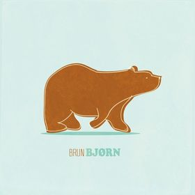BRUN BJØRN / BROWN BEAR