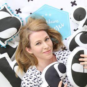 die kleine Designerei - Schwarz Weiss Deko, Buchstaben nähen und Kindergeburtstage feiern
