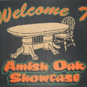 Amish Oak Showcase Furniture