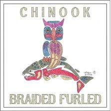 Chinook Braided Furled Leaders