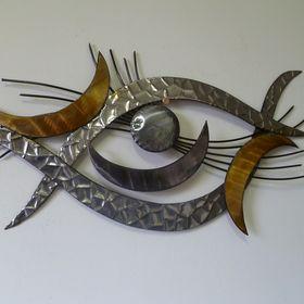 Wandschmuck metall wandschmuck auf pinterest - Wandschmuck metall ...