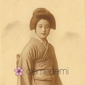 demi demi - Japanese vintage kimono silk accessories