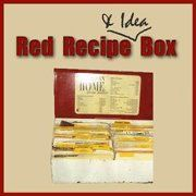 Red Recipe Box