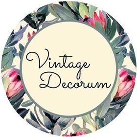 Vintage Decorum