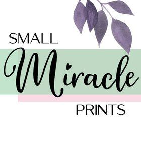 SmallMiraclePrints—Minimalist, Modern, Inspirational Life & Decor