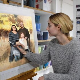 Paint Your Life - Custom Hand-Painted Portraits By Real Artists