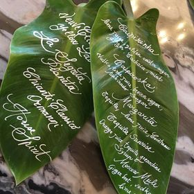 Laura Mazzetti - calligrapher - The Wedding Letters