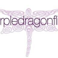 Purple dragonflies