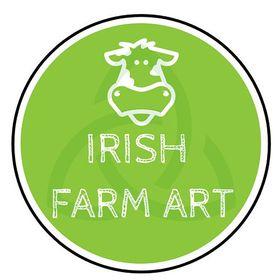 Irish Farm art by Sam