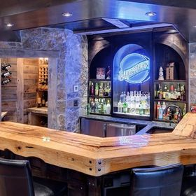 Home Bar Ideas | A place for friends