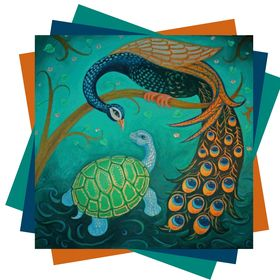 Peacock and The Tortoise