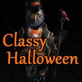 Classy Halloween
