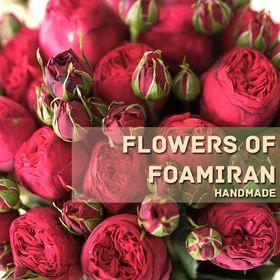 Flowers Of Foamiran