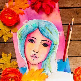 Pink Spark Studio | Art Journal | Mixed Media | Watercolor |