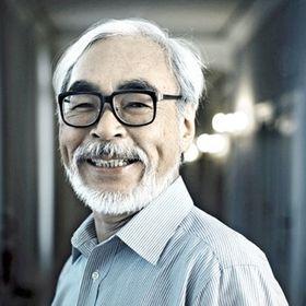 Glasses Celebrity Mask Hayao Miyazaki Card Face and Fancy Dress Mask