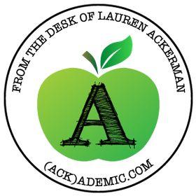 Lauren Ackerman-ACKademic