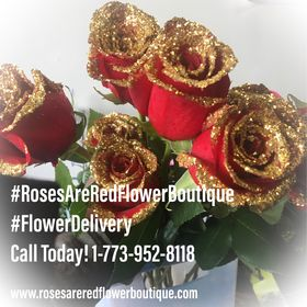Roses are Red Flower Boutique