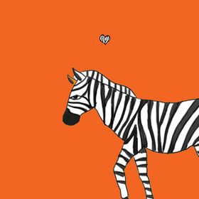 Cheeky Zebra // Funny Humor Inspired Cards & Invitations
