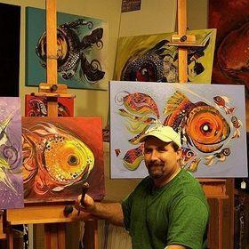 J Vincent Scarpace, Artist