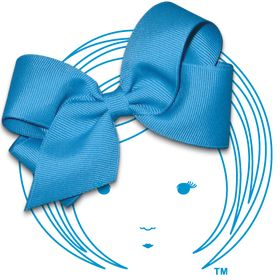 Felt Infant Baby Bows with VELCRO® brand hook and loop fastener,