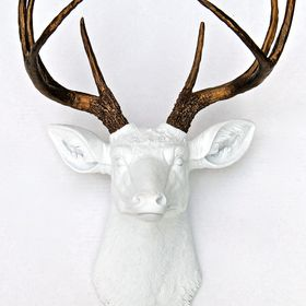 Lindsay | Near and Deer Faux Taxidermy