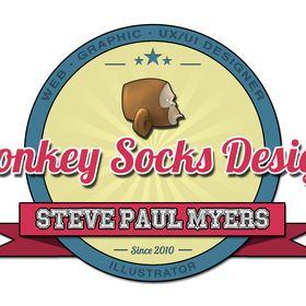 Monkey Socks Design