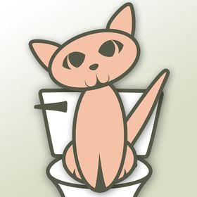 Cat Kitty Toilet Train