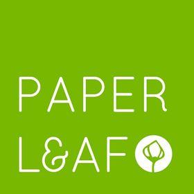 Paper Leaf EdA